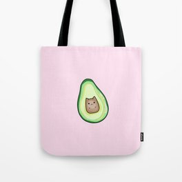 Avocado Cat AvoCATo Tote Bag