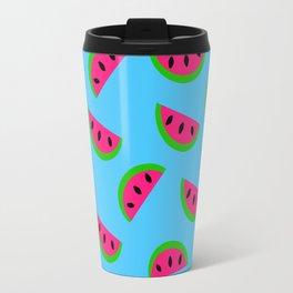 Summertime Watermelon Design Travel Mug