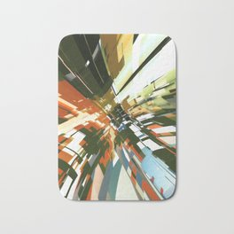 Abstract Composition 144 Bath Mat