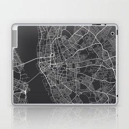 Liverpool Map, England - Gray Laptop & iPad Skin