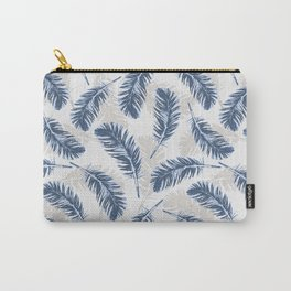My blue feathers Carry-All Pouch