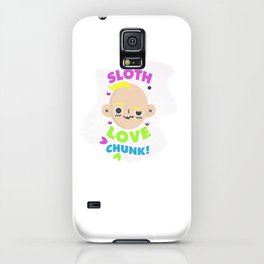 sloth love chunk! iPhone Case