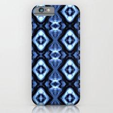 Bright Bue Diamond Pattern iPhone 6s Slim Case