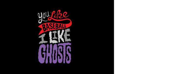 Baseball, Ghosts Coffee Mug