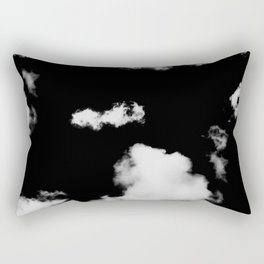 black & white clouds #1 Rectangular Pillow