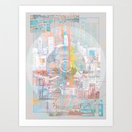 """""""Why New York Is Just an Average City"""" by Jessica Lin for Nautilus Art Print"""