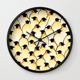 Penguins I Wall Clock