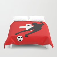 switzerland Duvet Covers featuring Switzerland - WWC by Alrkeaton