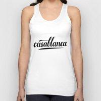 casablanca Tank Tops featuring Casablanca by leah