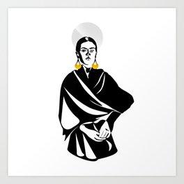 Frida Kahlo Gift Art Print
