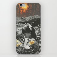 lights iPhone & iPod Skins featuring Lights by Sarah Eisenlohr