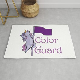 Color Guard - Unicorn Rug