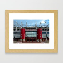 Football Stadium - Middlesbrough Framed Art Print