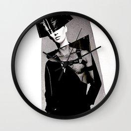 S/he may be a saint or a vixen Wall Clock