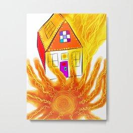firehouse Metal Print