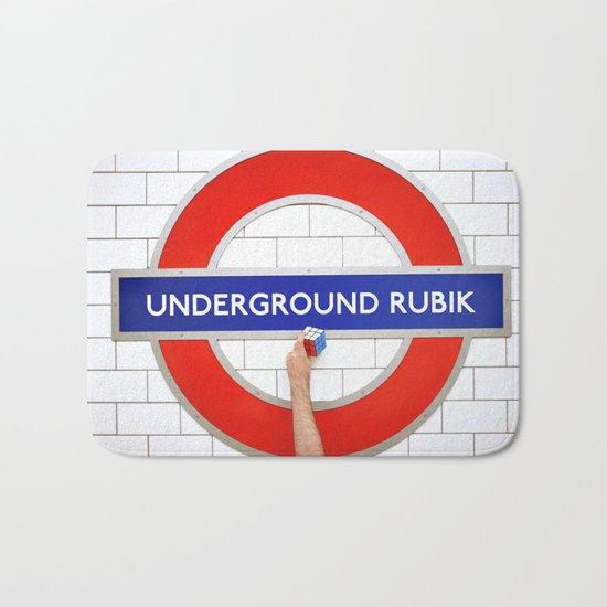 Underground Rubik Bath Mat