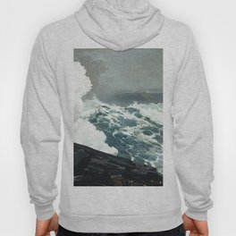 Northeaster 1895 By WinslowHomer | Reproduction Hoody