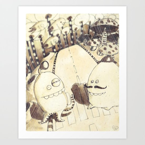 Polpisalve Art Print