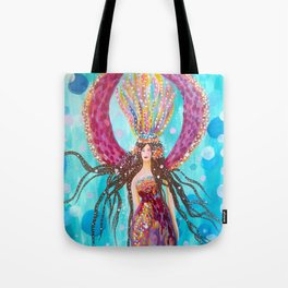 Pisces Moon Tote Bag