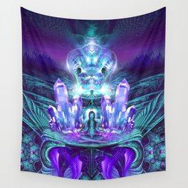 Expanding horizons - Visionary - Fractal - Manafold Art Wall Tapestry