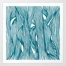 Inklines II Art Print