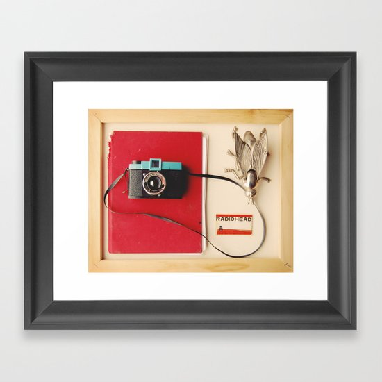 A Collection Framed Art Print