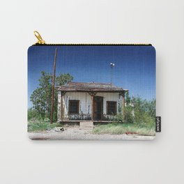 Somewhere on the Old Pecos Highway #8 Carry-All Pouch