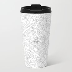 The Lego Movie — Colouring Book Version Metal Travel Mug