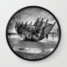 Merchant seafarer's war memorial 2 mono Wall Clock