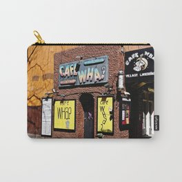 Cafe Wha? Greenwich Village NYC Carry-All Pouch