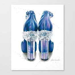Walking on Crystals Canvas Print