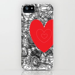 love for ever iPhone Case