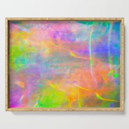 Prisms Play of Light 2 Serving Tray