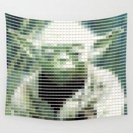 Yoda - StarWars - Pantone Swatch Art Wall Tapestry