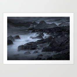 There's Something About Elgol Art Print