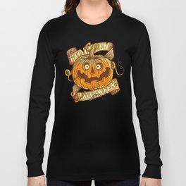 Halloween orange Long Sleeve T-shirt