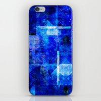 discount iPhone & iPod Skins featuring Sapphire Nebulæ by Aaron Carberry