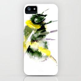 Bumblebee minimalist bee decor iPhone Case