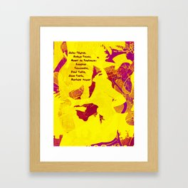 Art :) Framed Art Print