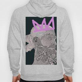 King_black/pink crown Hoody