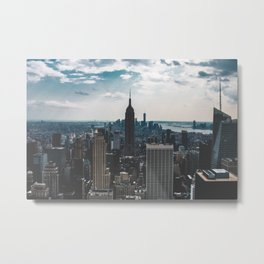 NEW YORK - CITY MANHATTAN - EMPIRE STATE BUILDING - PHOTOGRAPHY Metal Print