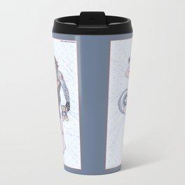 Bucky Pinup Metal Travel Mug