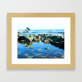 Corona Del Mar, California  Framed Art Print