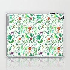 flowers watercolor Laptop & iPad Skin