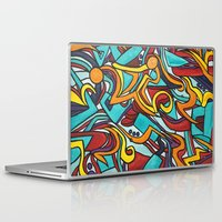 jazz Laptop & iPad Skins featuring Jazz by Jon McTavish