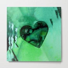 Heart Dreams 2G by Kathy Morton Stanion Metal Print