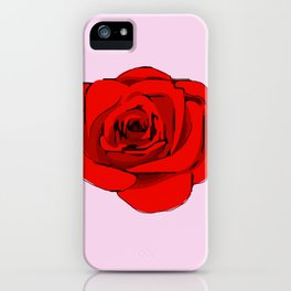 Red Rose. iPhone Case