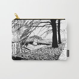 Et le jardin apparut  / And the garden appeared Carry-All Pouch