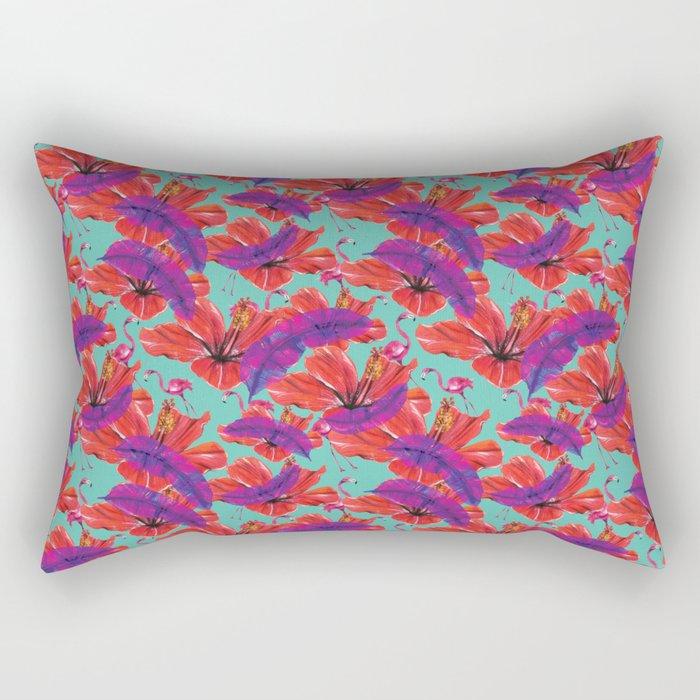 Flamingo TOT Rectangular Pillow