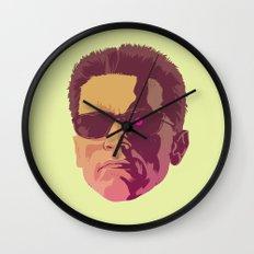 I LL BE BACK Wall Clock